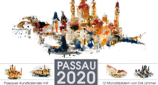 Kunstkalender Passau 2020 A4