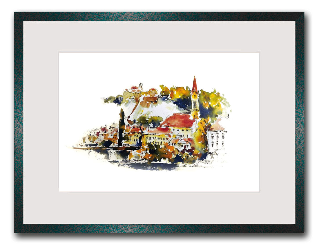 Originalkunst Passau Erik Limmer Bild kaufen